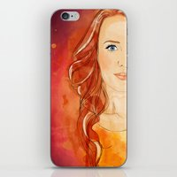 Simone Simons iPhone & iPod Skin