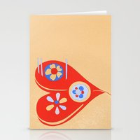 For The Love Of ... Stationery Cards