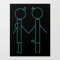 Stick Lust Canvas Print