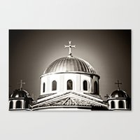 The Domes Of St. Andrew … Canvas Print