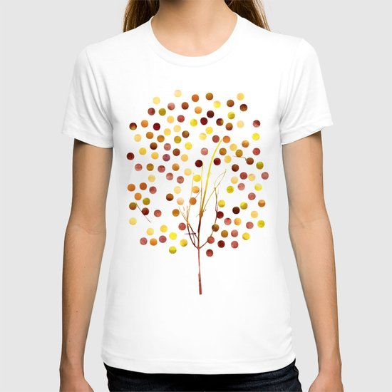 Tree of Life_Amber by Jacqueline and Garima T-shirt