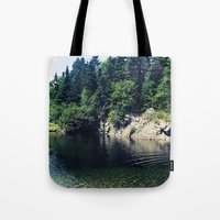 Water Hole Tote Bag