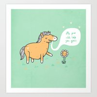 My Poo Will Help You Gro… Art Print