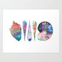 SEASHELL LOVE I Art Print