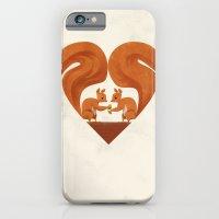 Love Heart Squirrels iPhone 6 Slim Case