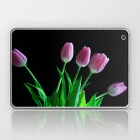 Blushing Tulips Laptop & iPad Skin