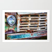 Colorful Grill Art Print
