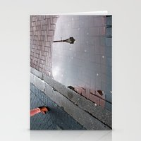 Dublin Puddle Stationery Cards