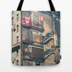 Building Kong Tote Bag