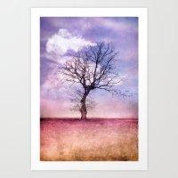 ATMOSPHERIC TREE | Early… Art Print