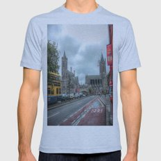 Dublin Mens Fitted Tee Athletic Blue SMALL