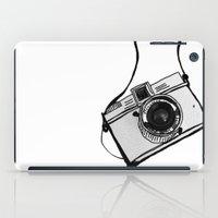 White Moodie Lomo iPad Case