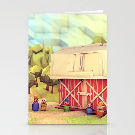 Fisher-Price Farm Stationery Card