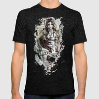 JAYBIRD art & design Mens Fitted Tee Tri-Black SMALL