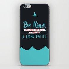 Be Kind iPhone & iPod Skin