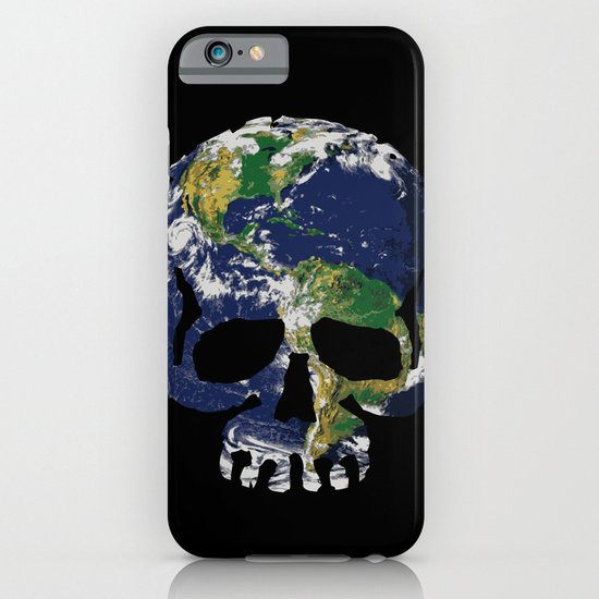 Skull Earth iPhone & iPod Case