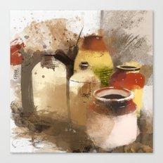 empty vessels Canvas Print