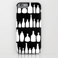 Bottles Black And White iPhone 6 Slim Case