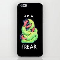 I'm a Freak iPhone & iPod Skin