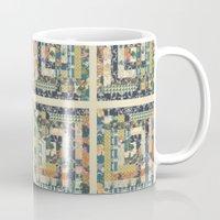 Art Deco Patchwork Mug