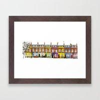 Hartland Road 1-15/Camden, London Framed Art Print