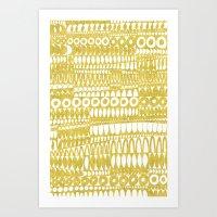 Golden Doodle Oooohh Art Print