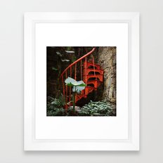 Up up and nowhere Framed Art Print