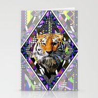 Trippin' Tiger Stationery Cards