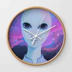 Alien - Extraterrestrial Biological Entity #1 (EBE#1) Wall Clock