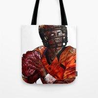 Peyton Manning zombie Tote Bag