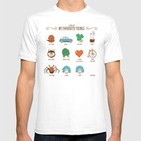 A Few Of My Favourite Th… Mens Fitted Tee White SMALL