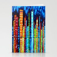Abstract Original Painti… Stationery Cards