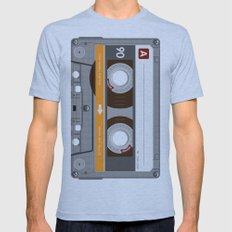 K7 Cassette 6 Mens Fitted Tee Athletic Blue SMALL