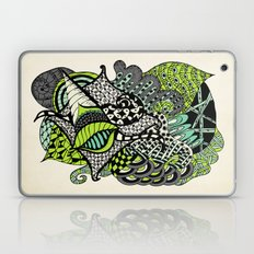 The flying snail Laptop & iPad Skin
