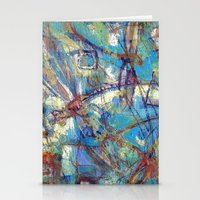 Dragonflies In Blue Stationery Cards