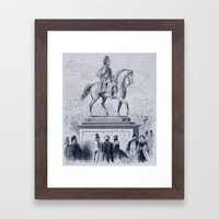 Prancing Pony Framed Art Print
