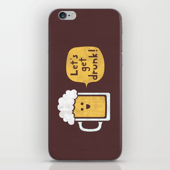 Drinking Buddy iPhone & iPod Skin