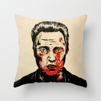 Walken Dead Throw Pillow