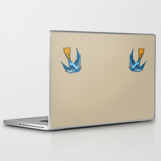 Swallow Tattoo Laptop & iPad Skin