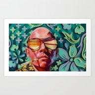 Art Print featuring Bad Trip by Jared Yamahata