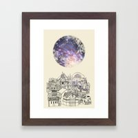 Cincinnati Fairy Tale Framed Art Print