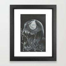 venom Framed Art Print