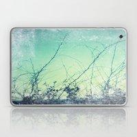 sea plants (teal) Laptop & iPad Skin