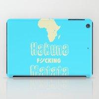 Hakuna Matata Africa iPad Case