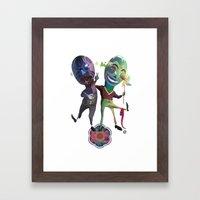 R S Frnds Framed Art Print