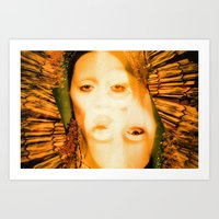 A Saint With Vision - Be… Art Print