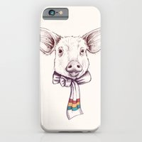 Pig And Scarf iPhone 6 Slim Case