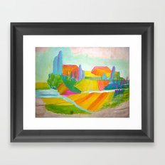 Y8c Framed Art Print
