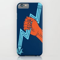 iPhone & iPod Case featuring Graphite For Your Right by WanderingBert / David Creighton-Pester