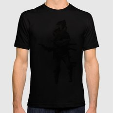 I still got one good eye SMALL Black Mens Fitted Tee